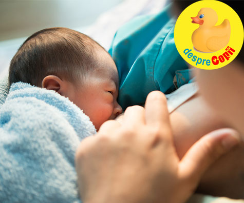 Bebelusii alaptati au mai putine virusuri in sistemul gastrointestinal