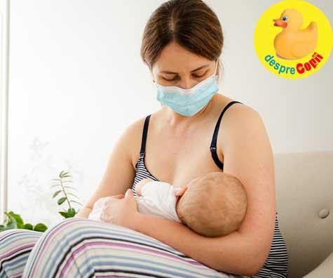 Greseli in alaptare: cand mama nu alapteaza pe motiv ca e bolnava