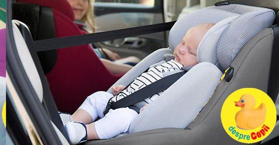 Cum alegem si cum instalam un scaun de masina pentru bebelusi