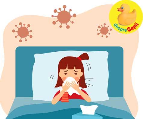 Copilul meu are o alergie sau COVID-19? Cum verific simptomele si fac diferenta?