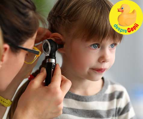Infectiile la urechi la copii si legatura lor cu alergiile alimentare