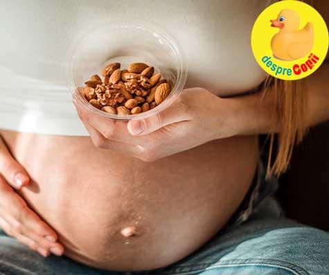 Bebelusii pot dobandi alergii de la mamele lor inca din uter