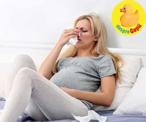 Alergiile sezoniere in timpul sarcinii - cum le tratam si ce medicamente sunt sigure?