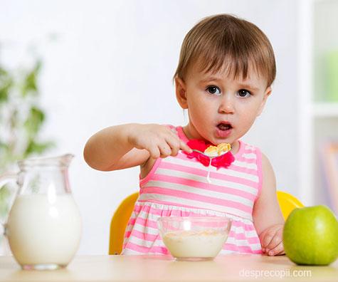 Reactiile copilului la alergiile alimentare