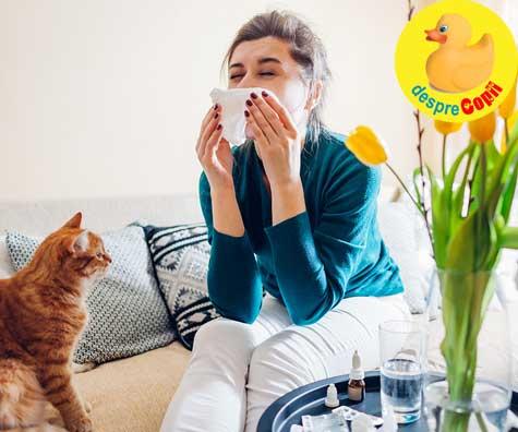 Alergii si alergeni - simptome si tratament. De ce este important sa le depistam? Sfatul medicului