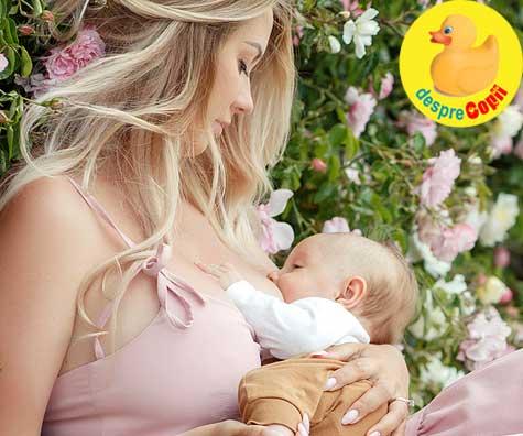 DA: Alimentatia mamei in timpul alaptarii influenteaza calitatea laptelui matern si beneficiile pentru bebelus