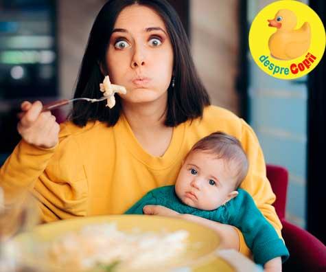 Greselile mamicilor dupa nasterea bebelusului: cum trebuie sa fie alimentatia si miscarea