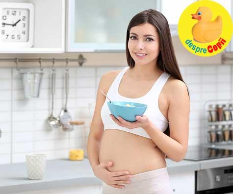 Alimentatia in primul trimestru de sarcina - iata de ce este atat de importanta si ce sfaturi sunt esentiale