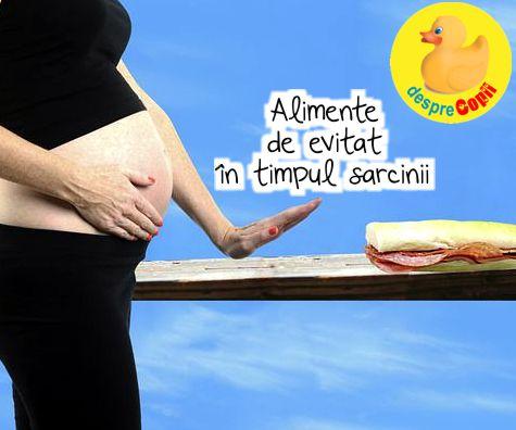 Esti insarcinata? Aceste alimente trebuie evitate in timpul sarcinii