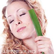 Sucul de Aloe Vera pentru un ten frumos