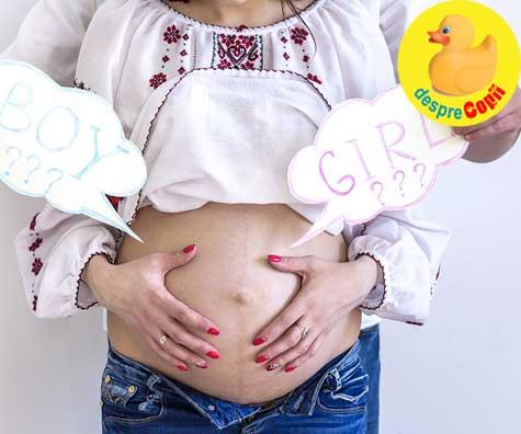 Am aflat sexul bebelusului in saptamana 17 - jurnal de sarcina