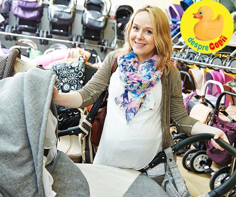 Cum am ales caruciorul pentru bebe in saptamana 35 - jurnal de sarcina