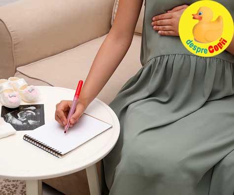 In sfarsit am reusit sa gasim numele perfect pentru fetita noastra - jurnal de sarcina