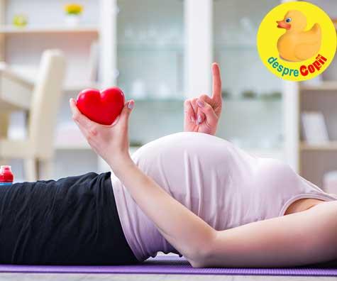 Cel mai frumos sunet din lume: inimioara lui bebe la 6 saptamani - jurnal de sarcina