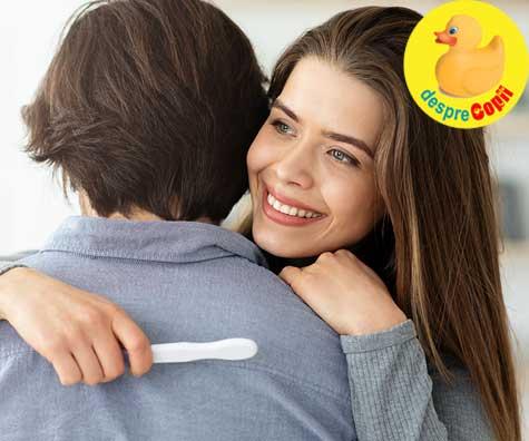 Despre infertilitate si minunea unui test de sarcina pozitiv - jurnal de sarcina
