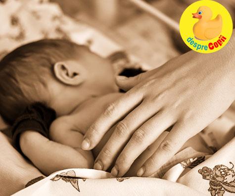 Eram planificata pentru cezariana dar am nascut natural rapid si usor - jurnal de nastere