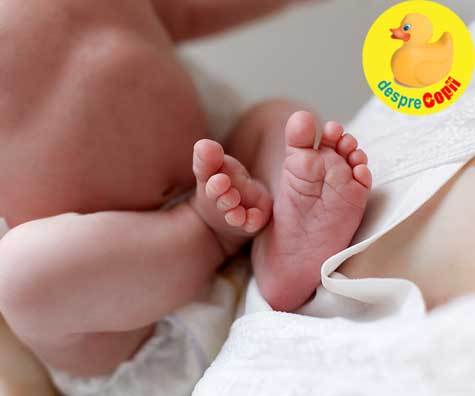 Bine ai venit, bebelusule drag - povestea unei nasteri in pandemie, cu teste si reanimare