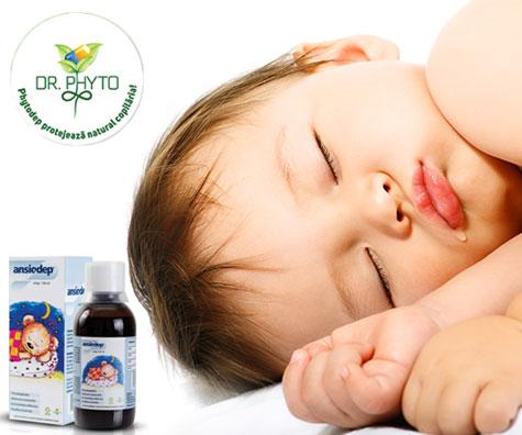 ANSIODEP - calmeaza starile de agitatie la sugari si copii