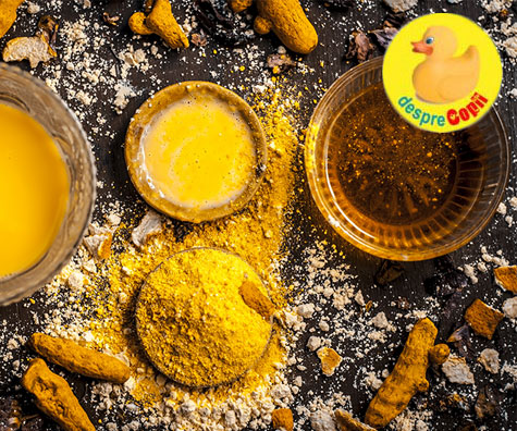 Turmericul si mierea: cel mai puternic antibiotic natural
