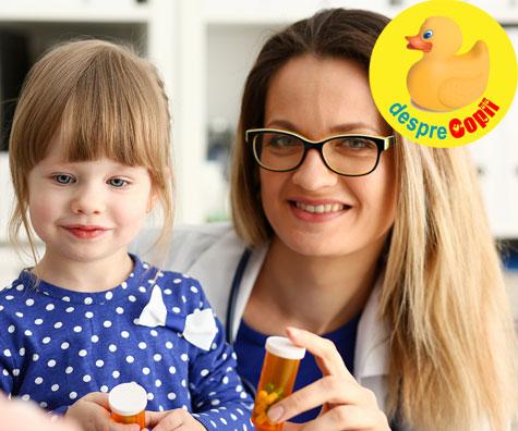 Cum pot folosi antibioticele in siguranta pentru copilul meu?