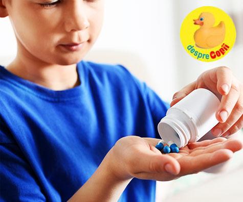 Folosirea antibioticelor la copii creste riscul de astm