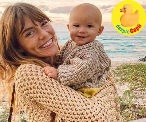 Iata cum si-a antrenat o mamica bebelusul sa faca la olita la doar 9 luni. E totusi cam devreme.