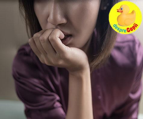 Anxietatea si cele mai mari greseli care o alimenteaza