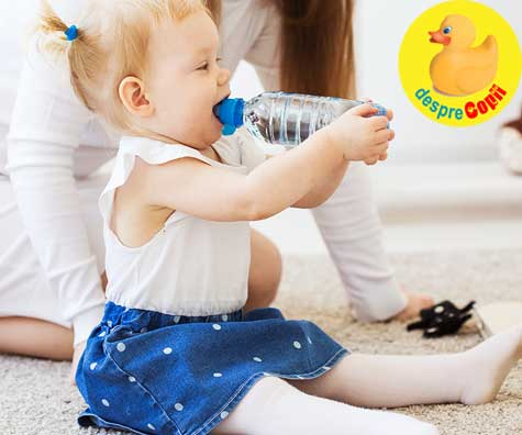 Apa la sticla - cand o putem da bebelusului si de care - iata ce trebuie sa stii