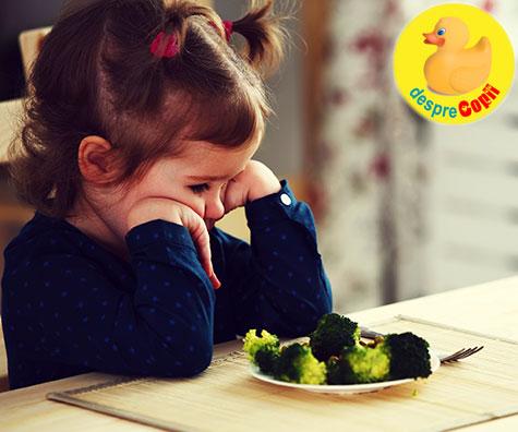 Vara apetitul copiilor scade. Ce facem?