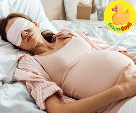 Te simti obosita in timpul sarcinii? Sindromnul de apnee in somn poate fi cauza