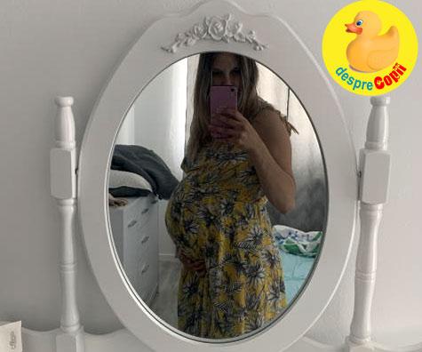 Aproape de momentul cel mare - jurnal de sarcina