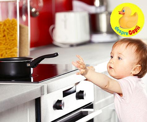 Primul ajutor cand copilul se opareste sau are arsuri pe piele
