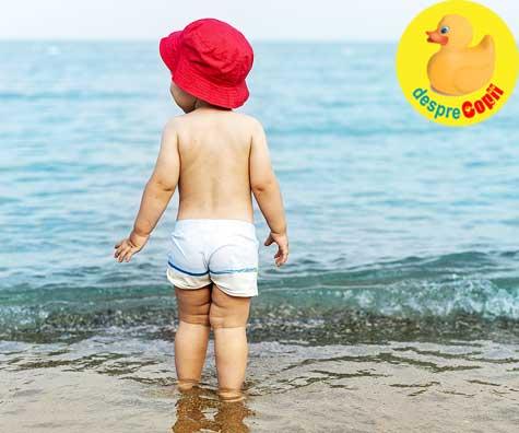 Arsurile solare la copiii mici - prevenire si tratament