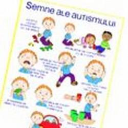 Semne ale autismului -  infografic