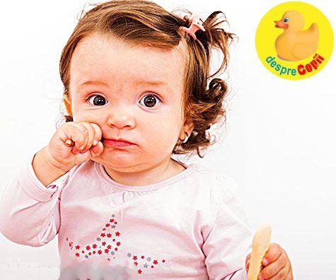 Autodiversificarea: alimente pentru bebelusii fara dintisori