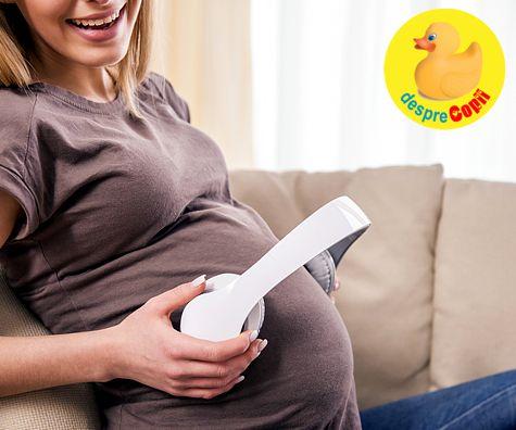 In burtica mamei: ce aude bebelusul