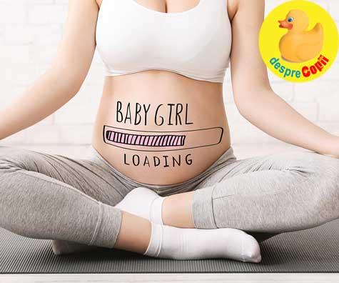 Misiune indeplinita, e fetita! - jurnal de sarcina