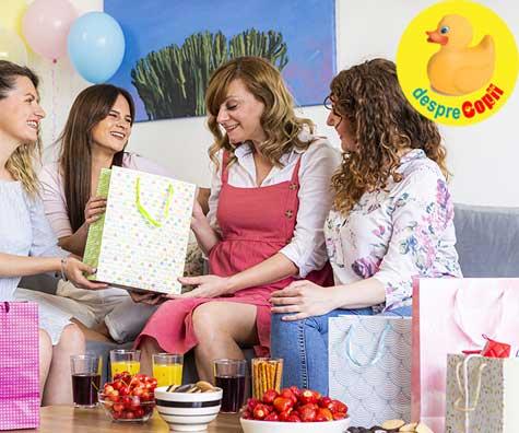Surprize frumoase cu baby shower la 37 de saptamani - jurnal de sarcina