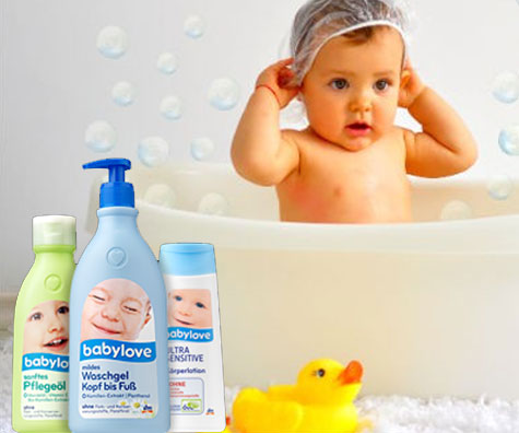 Baita bebelusului cu babylove: fara alcool, fara parabeni, fara parafina sau uleiuri minerale