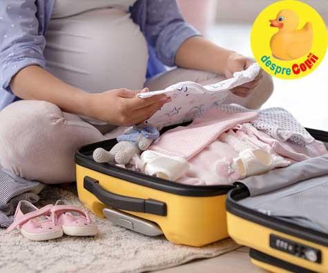 Bagajul de maternitate la a doua nastere - cateva arme secrete si multa intelepciune