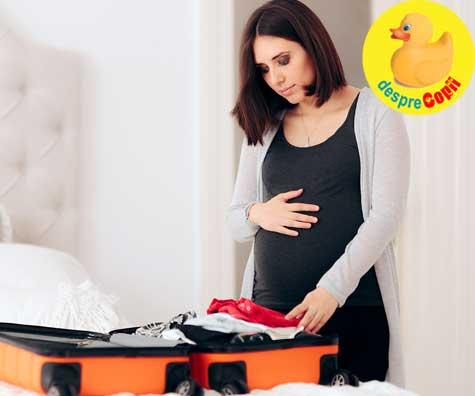 Bagajul meu pentru maternitate este gata. Iata lista mea - jurnal de sarcina