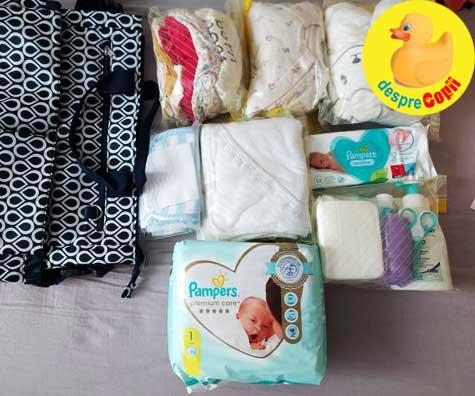 Bagajul Teodorei pentru maternitate: alegerea mea - jurnal de sarcina