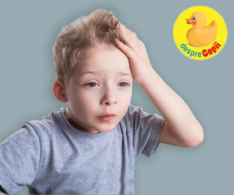 Atitudinea părinților poate influența durerea de cap la copii