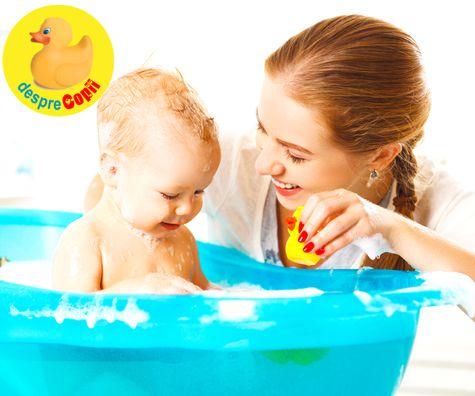 Baita bebelusului: ce trebuie sa stie orice mamica