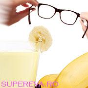 Bananele ajuta la sanatatea ochilor