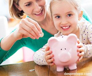 Cand si cum il invatam pe copil valoarea banilor?