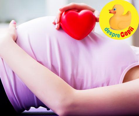 Emotii de nedescris la auzul inimioarei tale - jurnal de sarcina