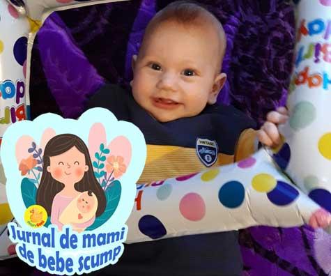 Bebe la 6 luni: anxietatea de separare si tentatia televizorului - jurnal de mami de bebe scump