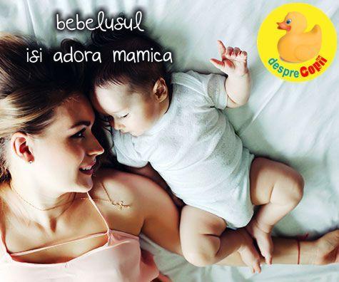 10 semne ca bebelusul tau te adora