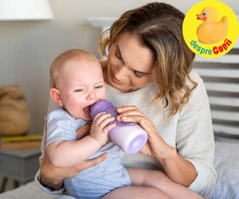 Alergia bebelusului la lapte de vaca - asigura-te ca este reala si nu renunta la alaptare prea usor.